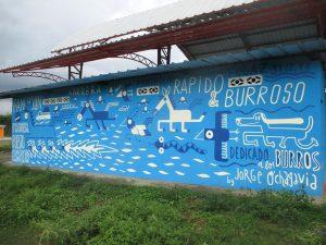 Mural Rápido & Burroso