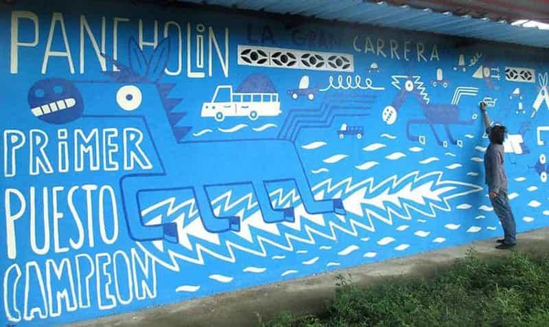 Mural Rápido y Burroso