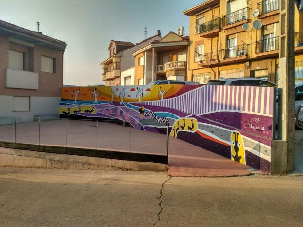 Mural Pradejón - Fotografía Larioja.com