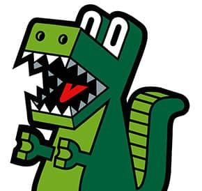 Ilustración Lámina Dinosaurio