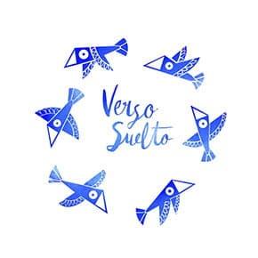 Ilustración logotipo Album Verso Suelto