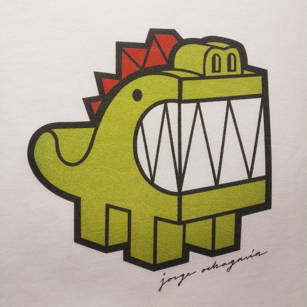 Camiseta orgánica con ilustración Dragón