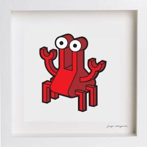Ilustración cangrejo