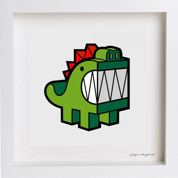lamina dragón