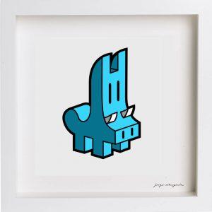 lamina jabali azul