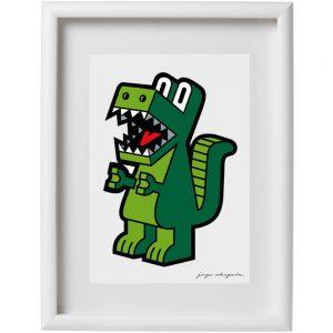 Lamina dinosaurio