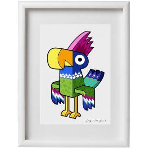 lamina tropical bird